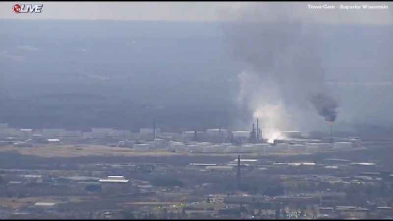 1 Person Reportedly Injured in Superior Refinery Explosion