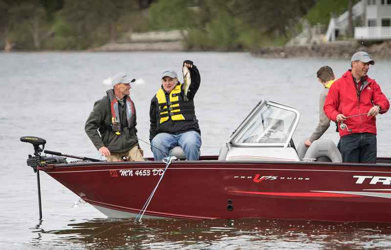 71st Minnesota Governor's Fishing Opener Goes 'Swimmingly'