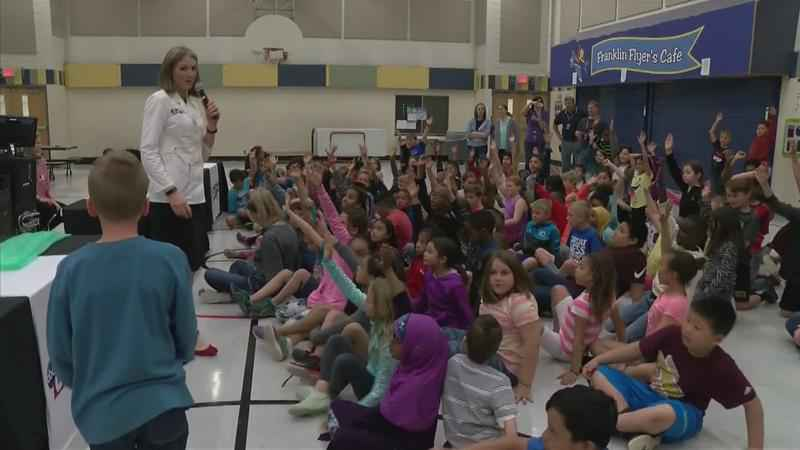 ABC 6 Weather Lab Visits Ben Franklin Elementary