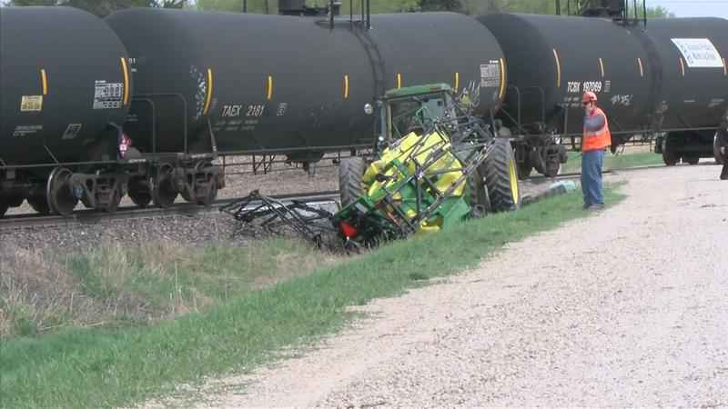 UPDATE: Man Identified in Fatal Train vs  Tractor Crash