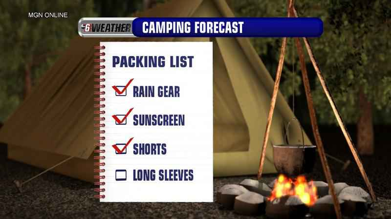 Camping Is A Go! Bring The Hot Weather Gear!