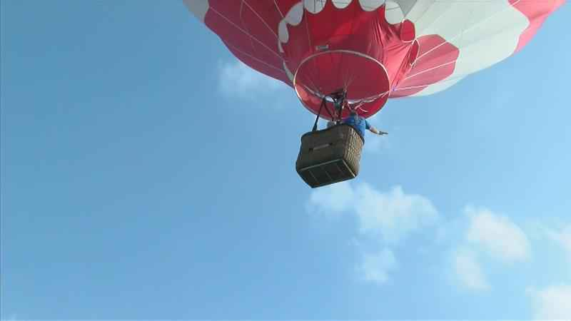 Hot Air Balloon Honor Flight Lifts Off