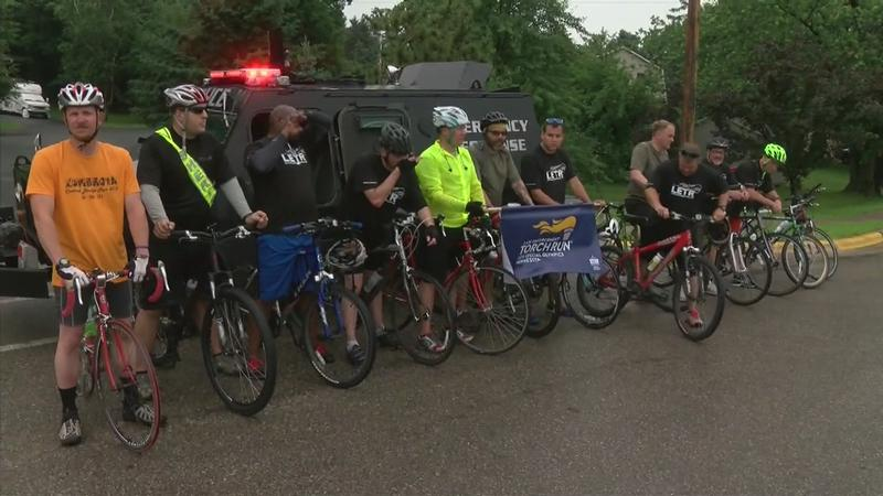 Local Authorities Walk, Run, and Bike for Special Olympics