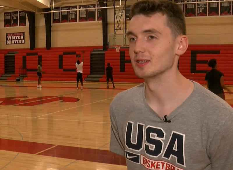 JM's Matthew Hurt Returns to Rochester with a Gold Medal