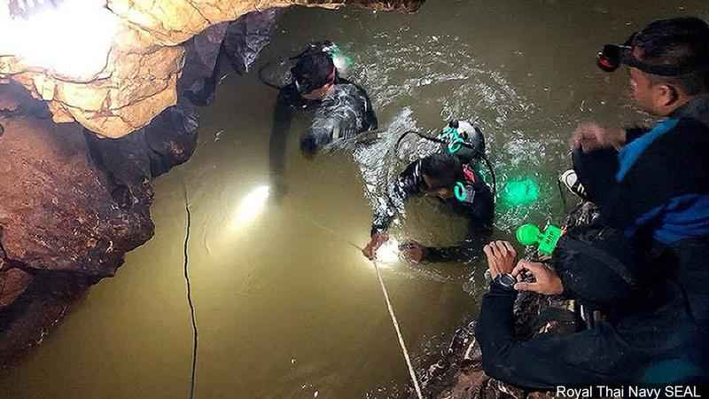 All 12 Boys, Coach Rescued from Flooded Thai Cave