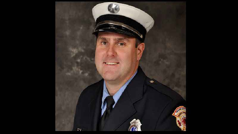Mason City Fire Captain Jon Anderson