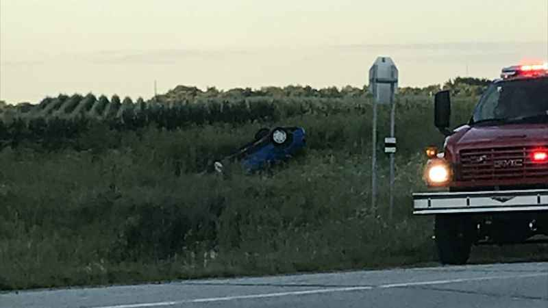 BREAKING: One Person Dead After Rollover in Dodge County