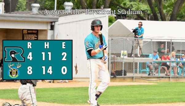 Hardy Homers Twice in Honkers Loss