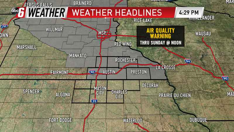 Air Quality Warning This Weekend