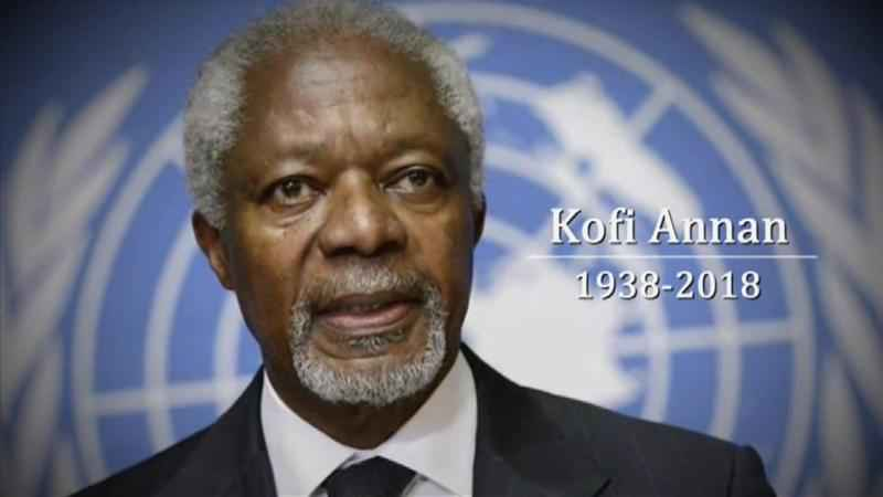 Funeral Kindles Recollections Of Kofi Anna