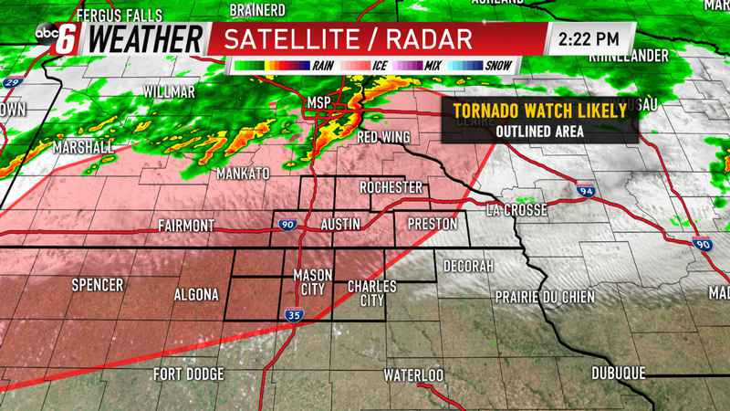 Tornado Watch Likely Soon