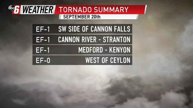 Recapping The September 20th Storms & Tornadoes