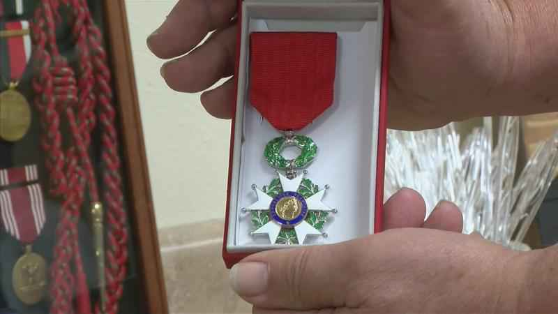 Manly, IA Veteran Honored with Highest French Award