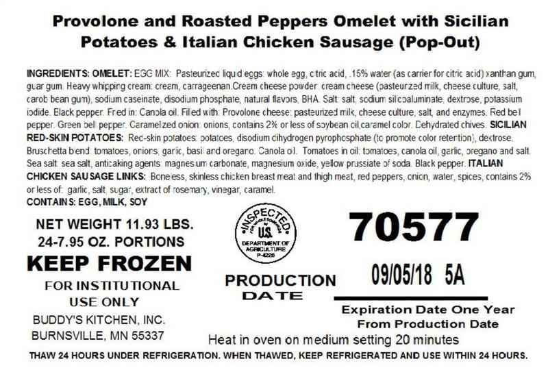 Minnesota Frozen Food Company Recalls Pork, Chicken Products<br />