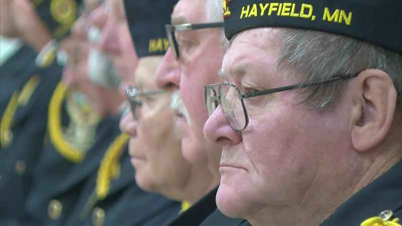 Hayfield Students Open Kindness Week with Veterans Tribute