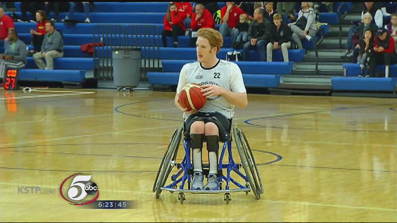 Wheelchair Basketball Tournament Attracts National Attention
