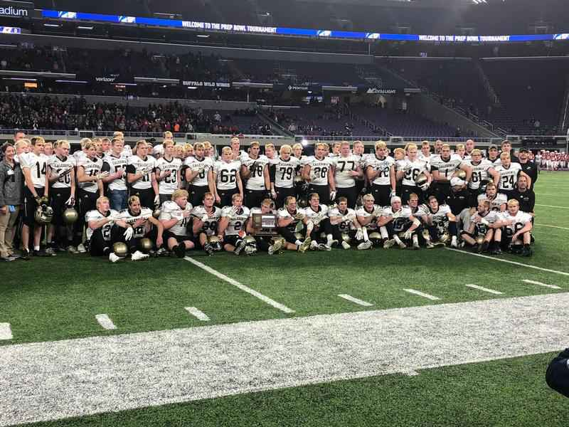 Caledonia Wins Fourth Consecutive State Football Title