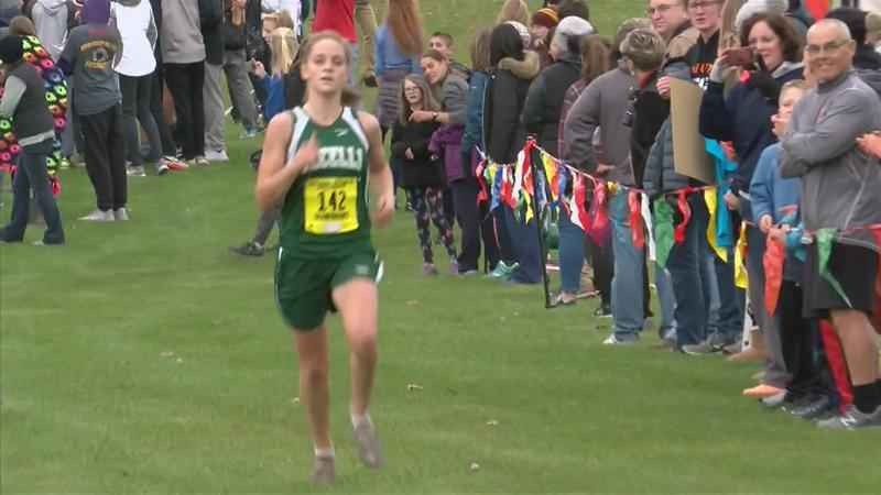 Lyle's Kayla Christopherson finishes in top 20 at State Cross Country