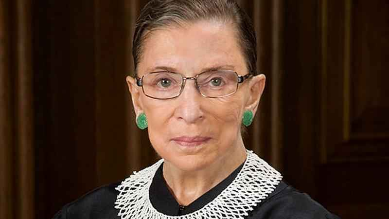Justice Ginsburg falls in her office, is taken to hospital
