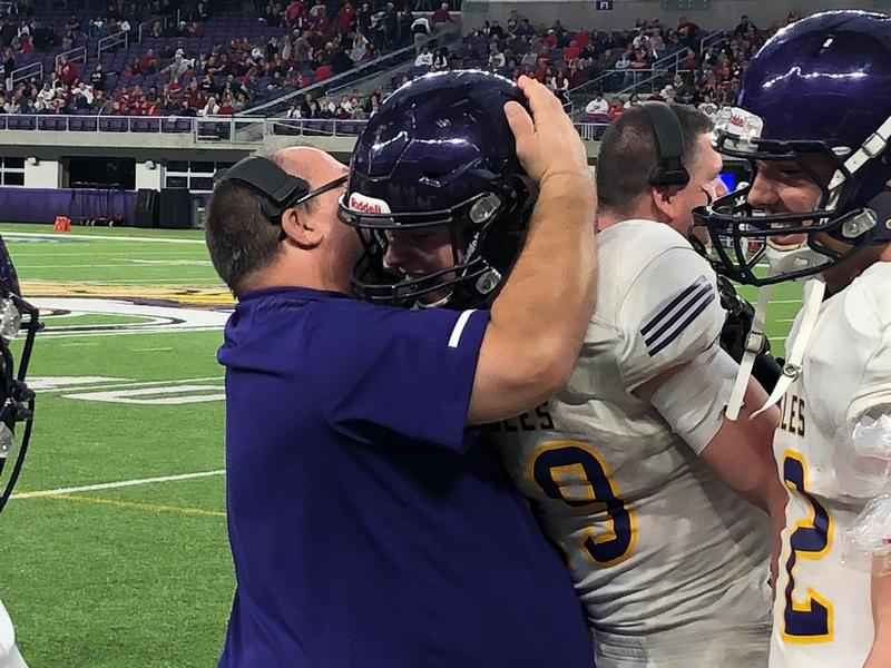 Lourdes Eagles Earn Fifth State Football Title