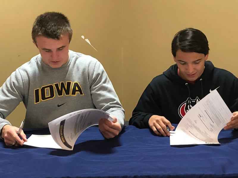 Local Athletes Sign NLOI 's on National Signing Day