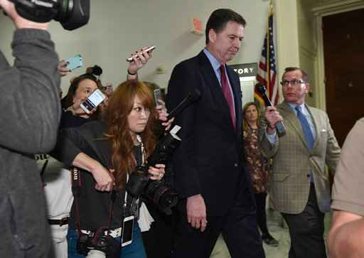 Comey Faces Off With GOP of Clinton Emails