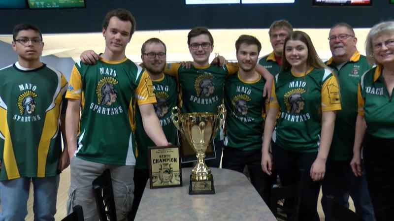 Mayo Spartans Bowling Team