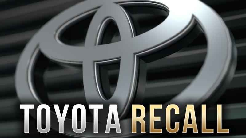 Toyota Recalling Thousands of Trucks, SUVs Over Air Bag, Brake Problems