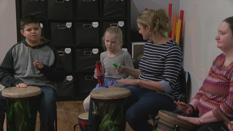 Drum Circle Helps with Healing as Part of Music Therapy