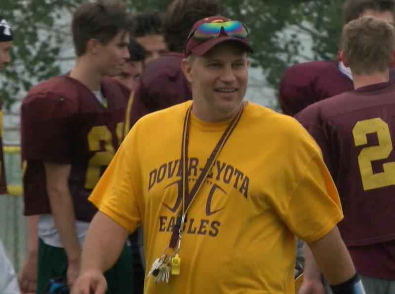Brian Harris Resigns as Dover-Eyota Head Football Coach