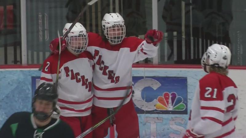 Austin Moving On in Section Hockey Playoffs