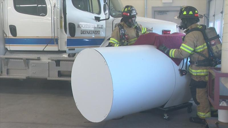 Local Firefighters Train to Fight Chemical Spills