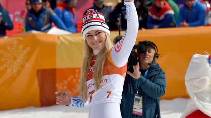 Vonn Closes Career with Bronze Medal