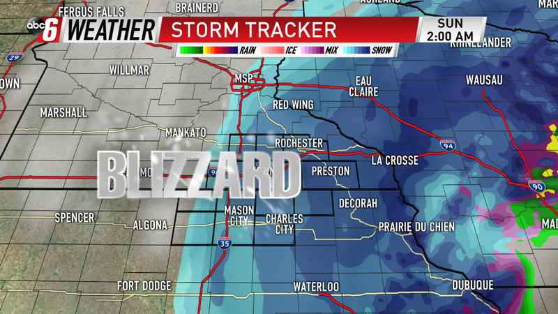 Main Event Saturday Night: Blizzard