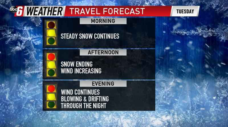 Difficult Travel Through Today & This Evening
