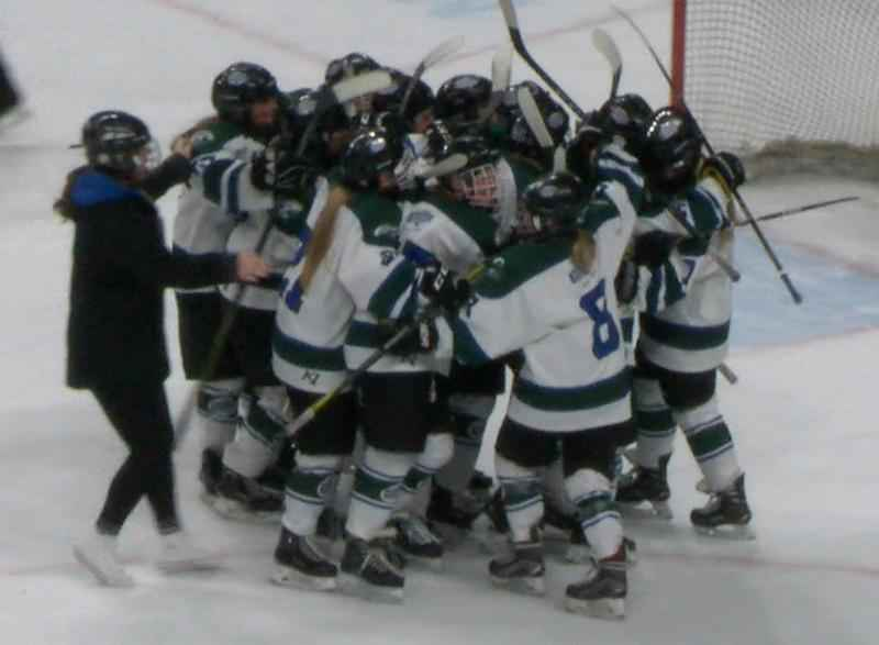 Lourdes Girls Hockey Comes Back Twice Before Falling in State Opener