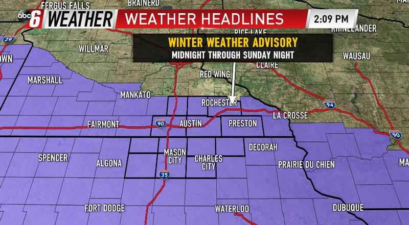 Another Winter Weather Advisory