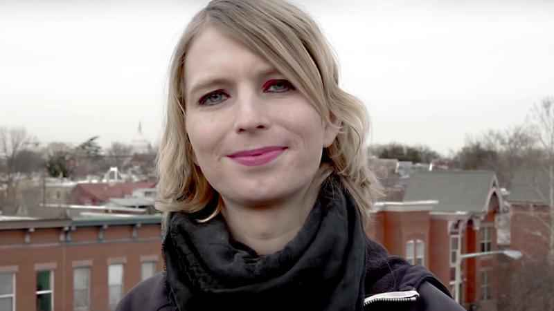 Chelsea Manning being detained after judge holds her in contempt