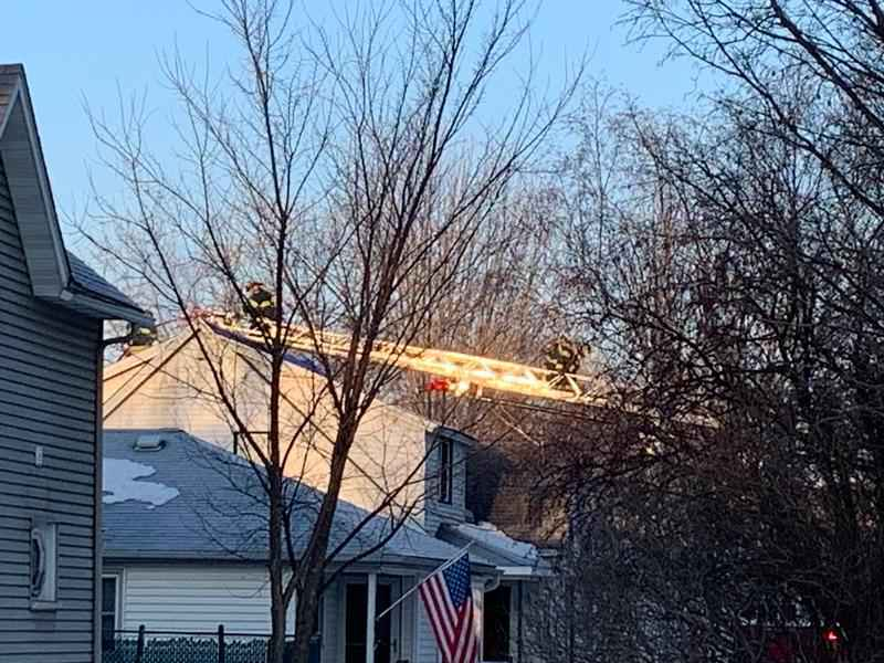 Multiple Crews Respond to Kasson House Fire