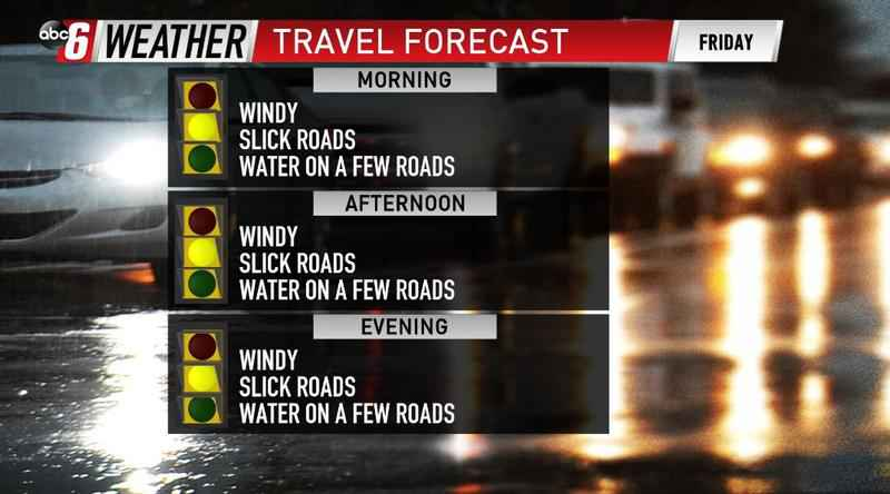 Roads Remain Slick & Underwater For Some