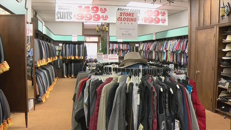 Longtime Charles City Clothing Store Closing Its Doors
