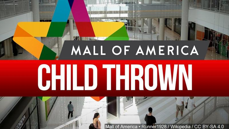 Boy thrown from Mall of America balcony shows signs of recovery