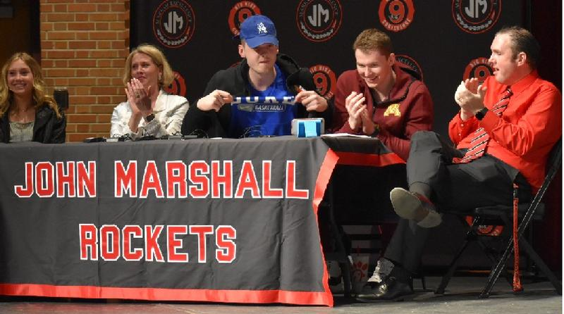JM's Standout Basketball Star Matthew Hurt Signs with Duke