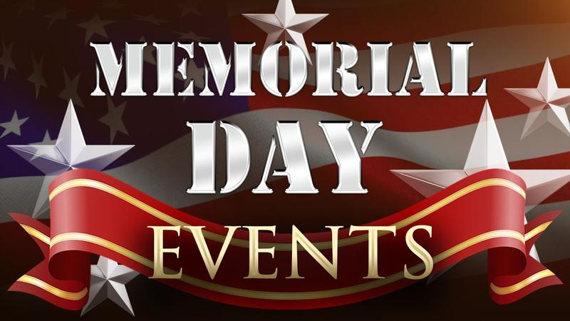 Memorial Day Events in SE MN and Northern IA