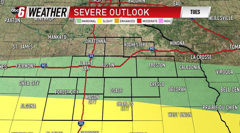Enhanced risk of severe weather for Michiana on Monday