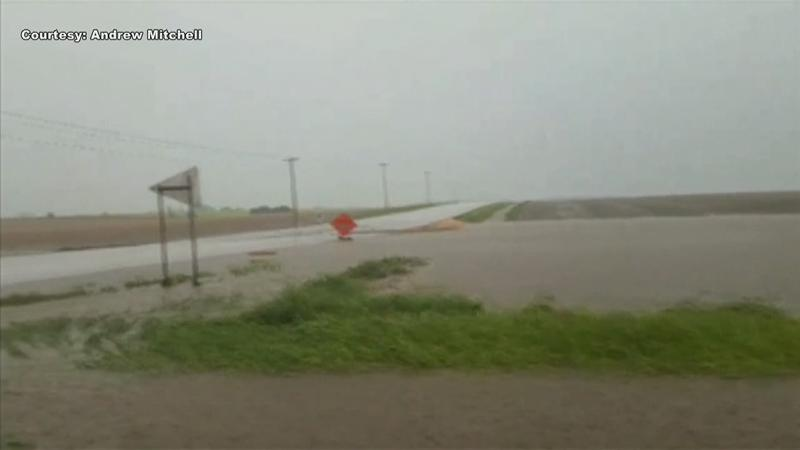 Flooding Cause Headaches to Motorists in Fillmore County