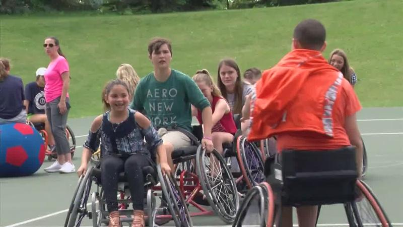 Turning Pain into Purpose: Norton Hosts Wheelchair Camp