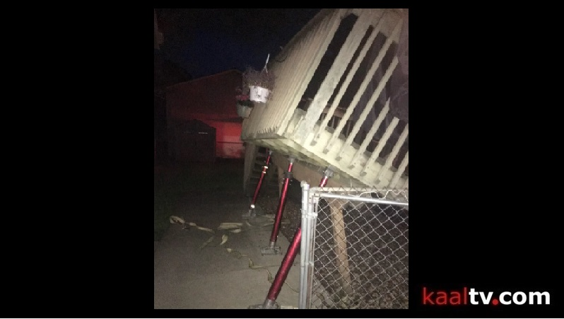 One Person Sent to Hospital after Deck Collapse
