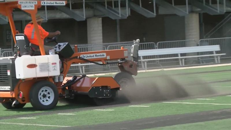 Rochester Regional Stadium Turf Renovation