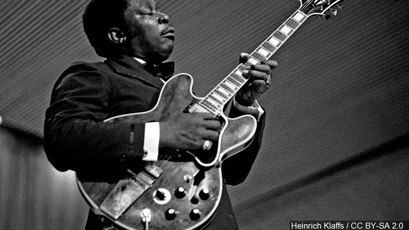 B.B. King's items for auction